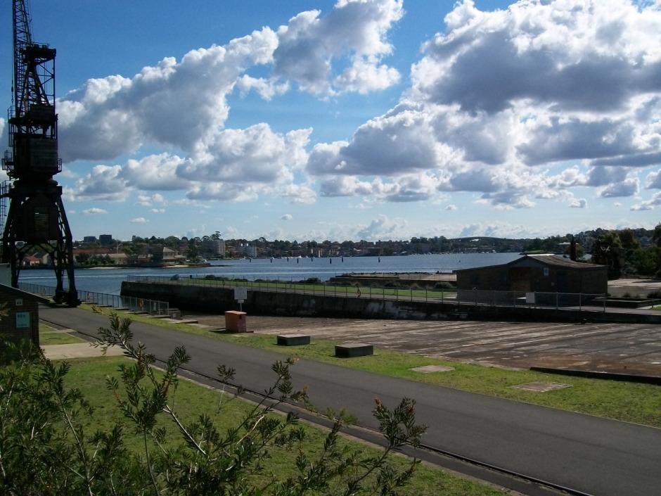 Plongée dans l'histoire sur Cockatoo Island